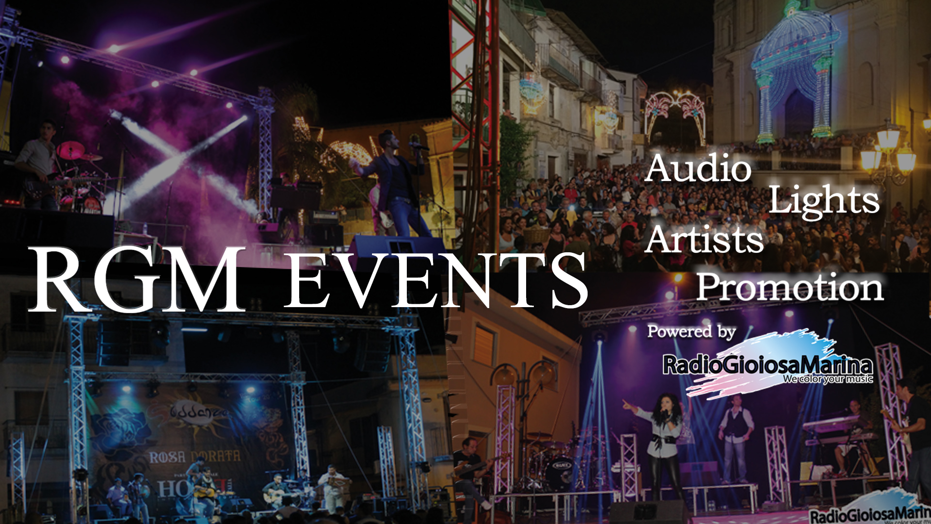 Banner orizzontale RGM EVENTS