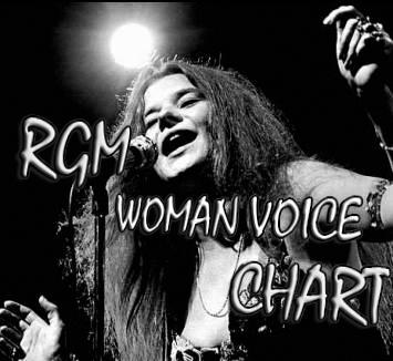 Logo Rgm woman Voice Chart Radio Gioiosa Marina