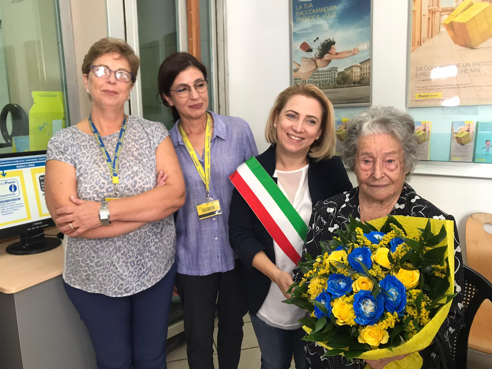 CENTENARIA POSTE ITALIANE CAULONIA RADIO GIOIOSA MARINA NEWS