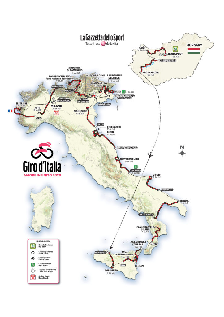 giro italia rgm news calabria