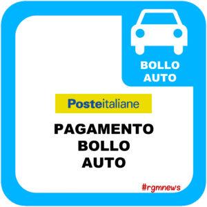 poste italiane bollo auto pagamento rgm news